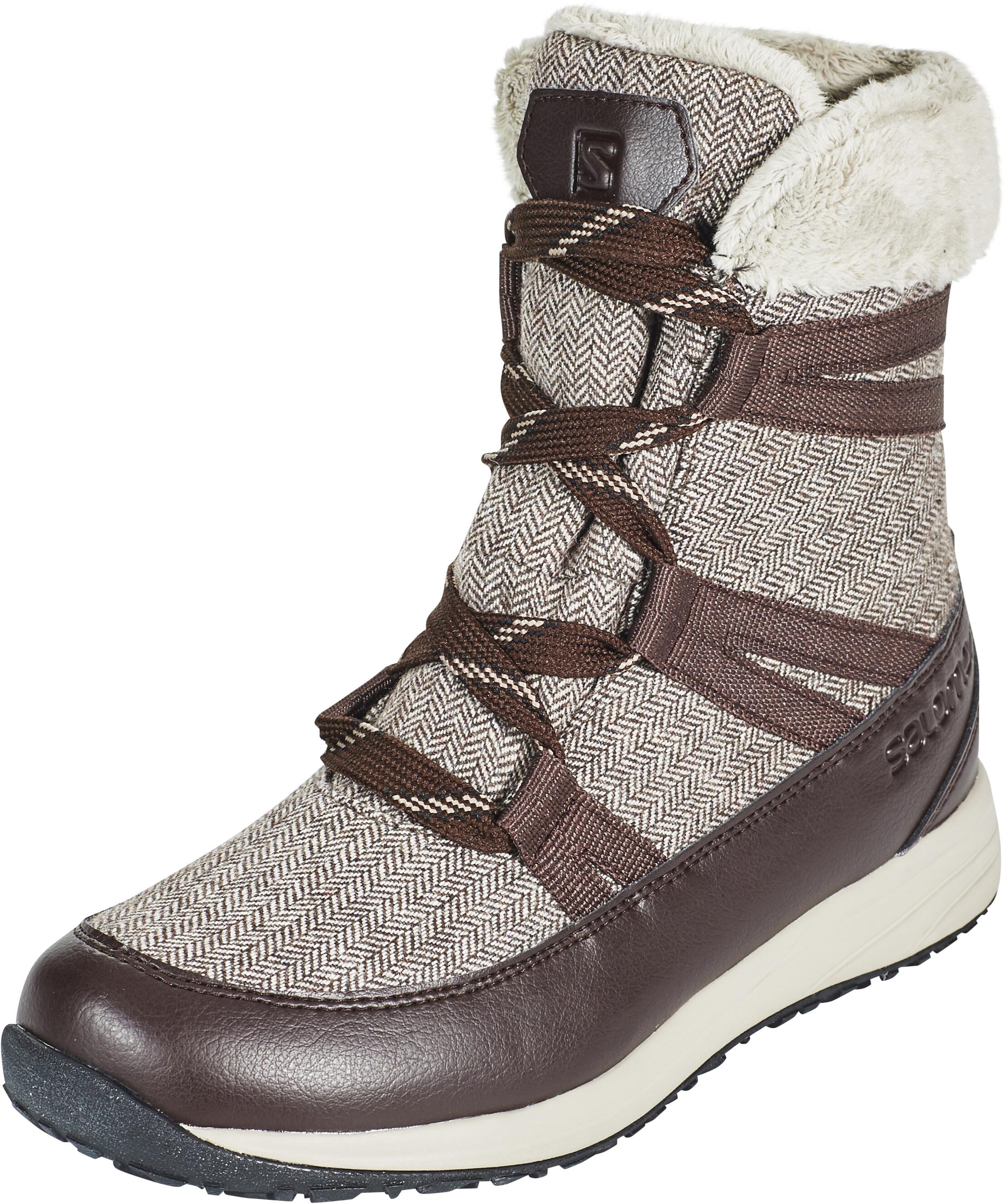 104427d60efe Salomon Heika CS WP Boots Women beige brown at Addnature.co.uk